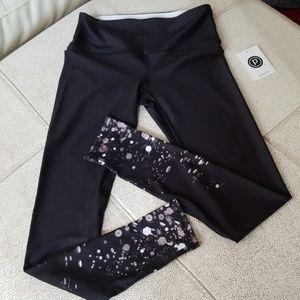 NWT Pure Barre Holiday glitter leggings